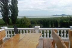 Piękny widok na Balaton.